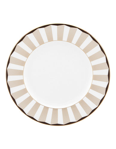 Brian Gluckstein By Lenox Audrey Salad Plate-WHITE-One Size