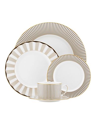 Brian Gluckstein By Lenox Audrey 5 Piece Place Setting-WHITE-One Size