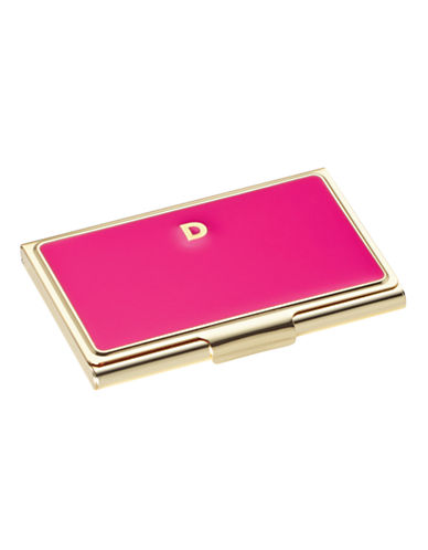 Kate Spade New York One In A Million Initial Business Cardholder D-PINK-One Size