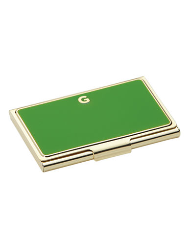 Kate Spade New York One In A Million Initial Business Cardholder G-GREEN-One Size