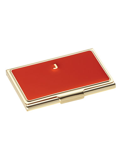 Kate Spade New York One In A Million Initial Business Cardholder J-RED-One Size