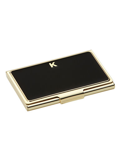 Kate Spade New York One In A Million Initial Business Cardholder K-BLACK-One Size