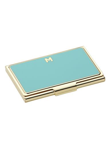 Kate Spade New York One In A Million Initial Business Cardholder M-TURQUOISE-One Size