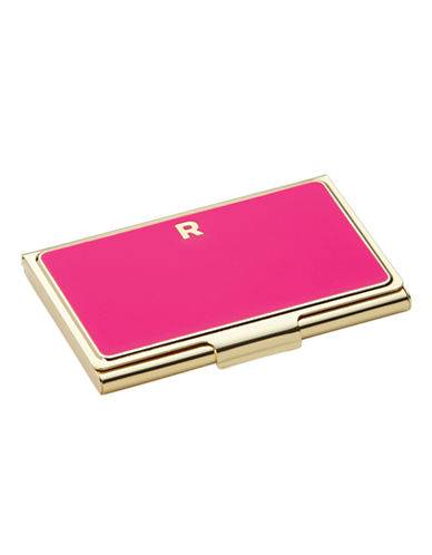 Kate Spade New York One In A Million Initial Business Cardholder R-PINK-One Size
