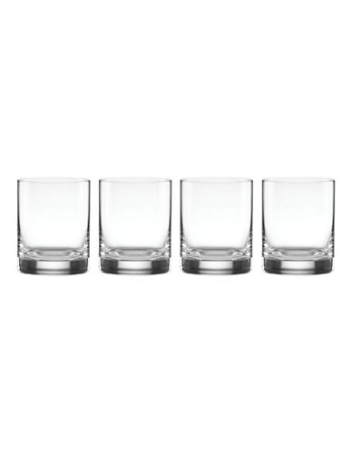 Lenox Tuscany Classics Double Old Fashion Glasses Set of 4-CLEAR-One Size