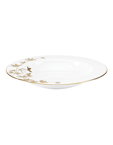 Kate Spade New York Oliver Park Rimmed Bowl-WHITE-One Size