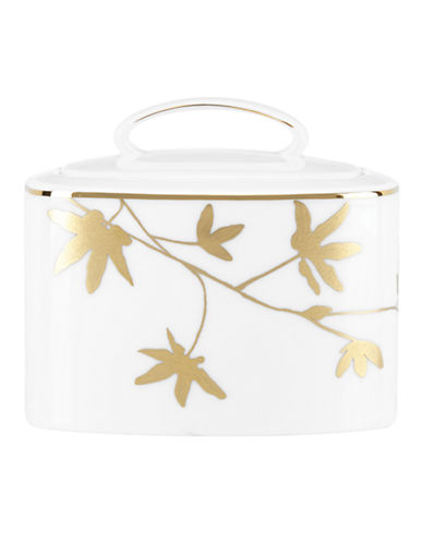 Kate Spade New York Oliver Park Sugar Bowl-WHITE-One Size