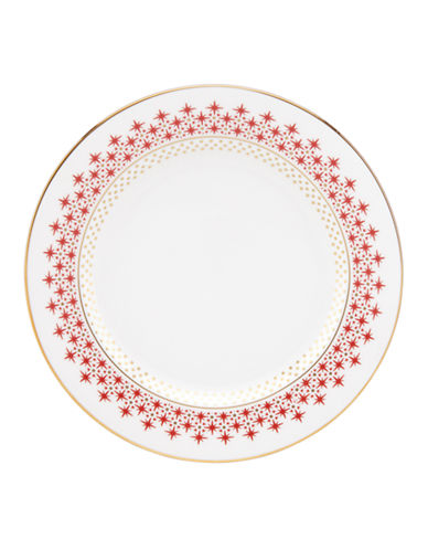 Kate Spade New York Jemma Street Butter Plate-WHITE-One Size
