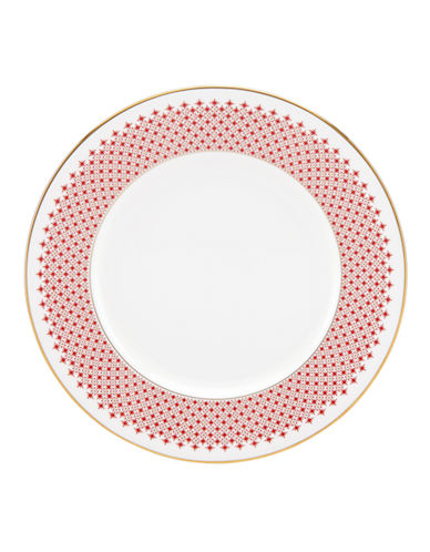 Kate Spade New York Jemma Street Dinner Plate-WHITE-One Size