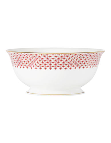 Kate Spade New York Jemma Street Serving Bowl-WHITE-One Size