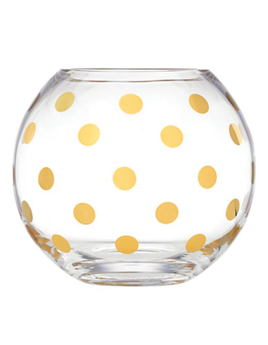 Kate Spade New York Pearl Place Rose Bowl-CLEAR-One Size