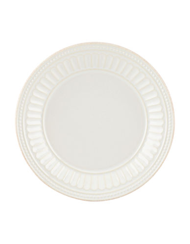Lenox French Perle Everything Plate-WHITE-One Size