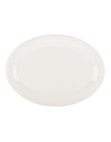 Kate Spade New York Scallop Platter-WHITE-One Size