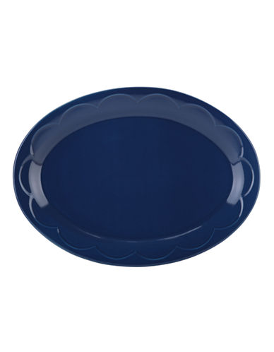 Kate Spade New York Scallop Platter-NAVY-One Size