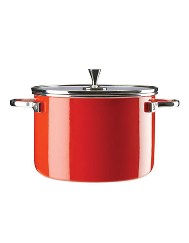 Kate Spade New York Six-Quart Metal Casserole-RED-One Size