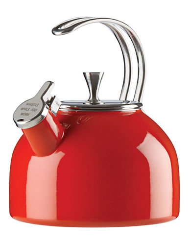 Kate Spade New York Whistling Tea Kettle-RED-One Size