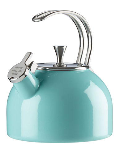 Kate Spade New York Whistling Tea Kettle-TURQUOISE-One Size