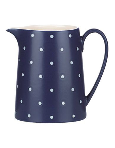 Kate Spade New York Larabee Dot Creamer-NAVY-One Size