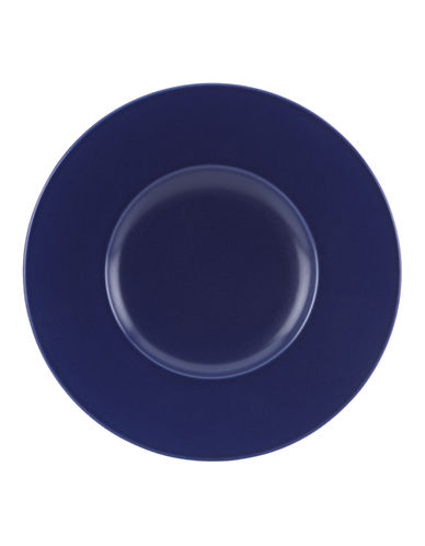 Kate Spade New York Larabee Dot Dessert Plate-NAVY-One Size
