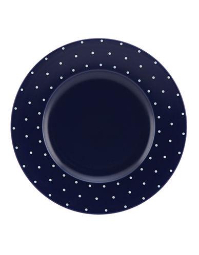 Kate Spade New York Larabee Dot Dinner Plate-NAVY-One Size