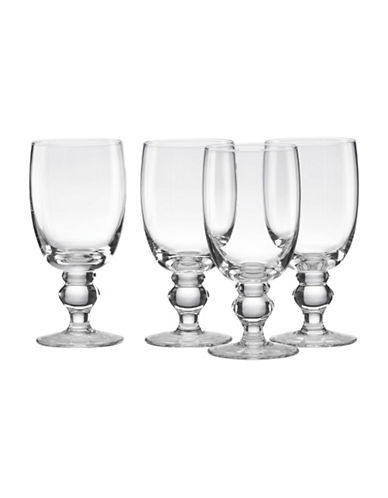 Lenox Four-Piece Classic All Purpose Beverage Glasses-CLEAR-One Size