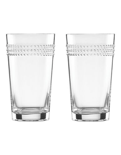 Kate Spade New York Wickford Highball Glasses-CLEAR-One Size