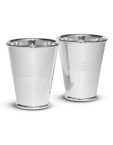Kate Spade New York Two of a Kind Snack Cups Set-SILVER-One Size