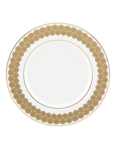 Lenox Accent Plate-WHITE-One Size
