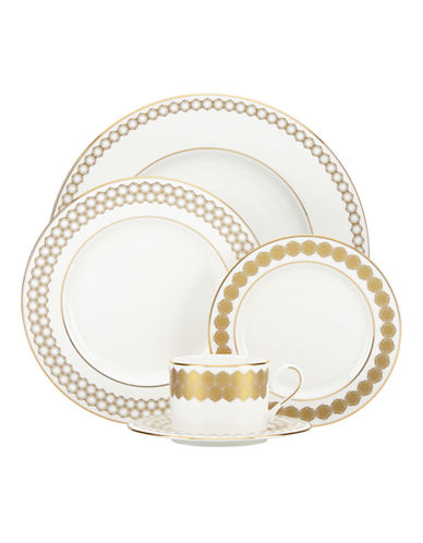 Lenox Five Piece Place Setting-WHITE-One Size