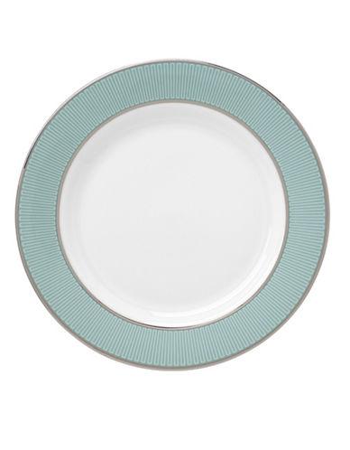 Brian Gluckstein By Lenox Clara Platinum Tip Butter Plate-AQUA-6.3 in