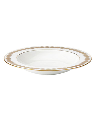 Lenox Rimmed Pasta Bowl-WHITE-One Size