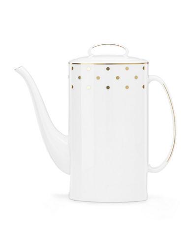 Kate Spade New York Larabee Road Coffee Pot-WHITE-One Size