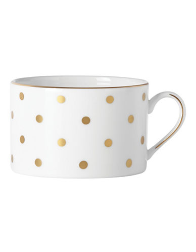 Kate Spade New York Larabee Road Gold Cup-WHITE-One Size