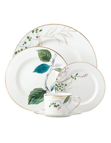 Kate Spade New York Birch Way Five-Piece Place Setting-WHITE-One Size