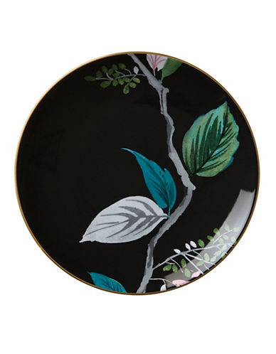 Kate Spade New York Birch Way Accent Plate-BLACK-One Size