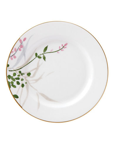 Kate Spade New York Birch Way Butter Plate-WHITE-One Size