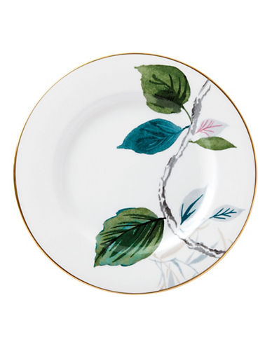Kate Spade New York Birch Way Salad Plate-WHITE-One Size