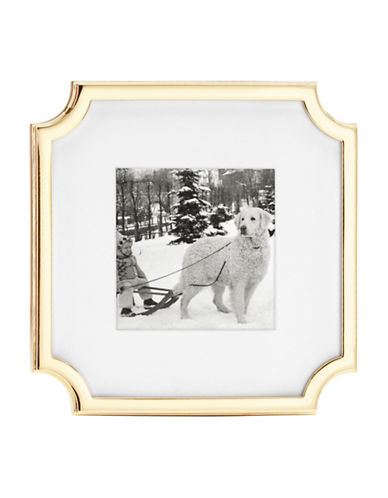 Kate Spade New York Sullivan 3x3-Inch Frame-GOLD-One Size