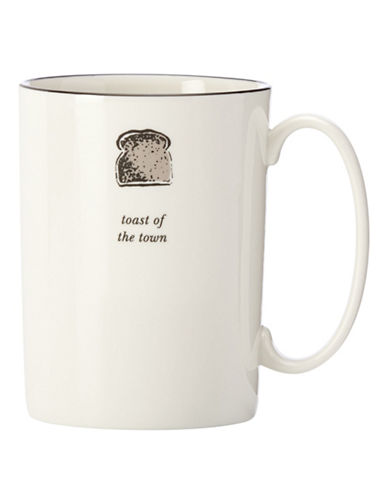 Kate Spade New York Cause A Stir Accent Mug-WHITE-One Size