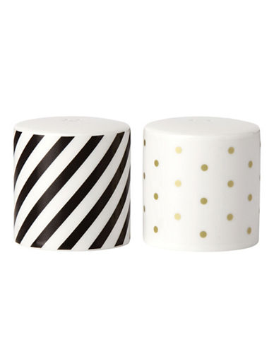 Kate Spade New York Fairmont Park Salt and Pepper Shaker Set-WHITE-One Size