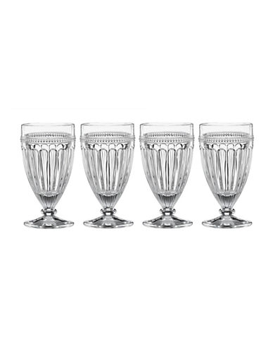 Lenox French Perle Four-Piece All-Purpose Glass Set-CLEAR-One Size