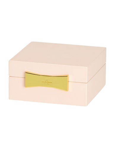 Kate Spade New York Garden Drive Square Pink Jewellery Box-PINK-One Size