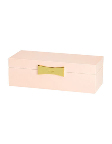 Kate Spade New York Garden Drive Rectangular Pink Jewellery Box-PINK-One Size