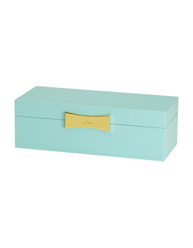 Kate Spade New York Garden Drive Rectangular Turquoise Jewellery Box-TURQUOISE-One Size