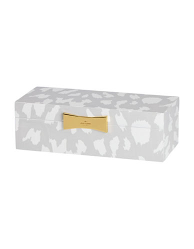 Kate Spade New York Garden Drive Rectangular Animal Jewellery Box-WHITE-One Size