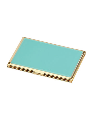 Kate Spade New York Garden Drive Hinged Turquoise Pocket Frame-TURQUOISE-One Size