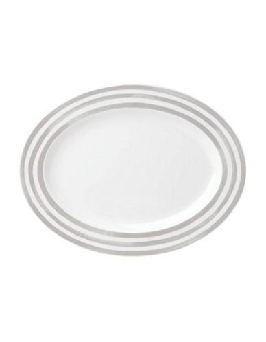 Kate Spade New York Charlotte Street Platter-WHITE/GREY-One Size