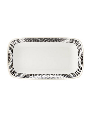 Kate Spade New York Avalon Place Wickford Accent Tray-WHITE-One Size