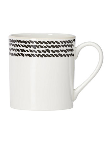 Kate Spade New York Avalon Place Wickford Accent Mug-WHITE-One Size
