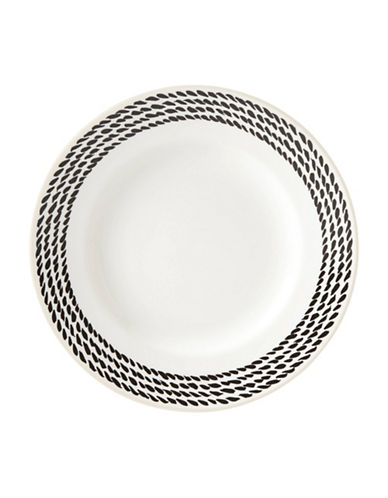 Kate Spade New York Avalon Place Wickford Plate-WHITE-One Size